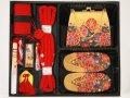 七五三高級箱セコ7点セット3歳用(草履16.5cm)