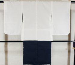 画像2: 七五三男の子5歳紋付着物袴11点セット合繊(家紋入れ込み)