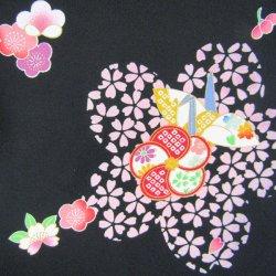 画像3: 七五三女の子3歳着物(襦袢付)正絹