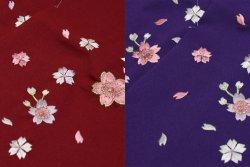 画像2: 女児袴刺繍入り 95cm-150cm用7サイズ