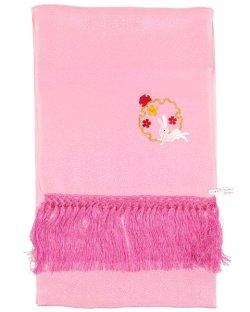 画像1: 七五三正絹刺繍しごき