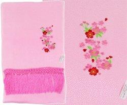画像2: 七五三正絹縫取しごき