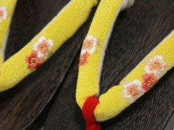 画像2: 女の子下駄19.5cm黄