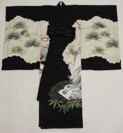 画像2: 男の子お宮参り着物 (黒)