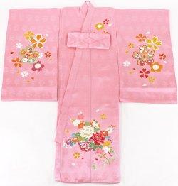 画像3: 女の子お宮参り着物 ピンク
